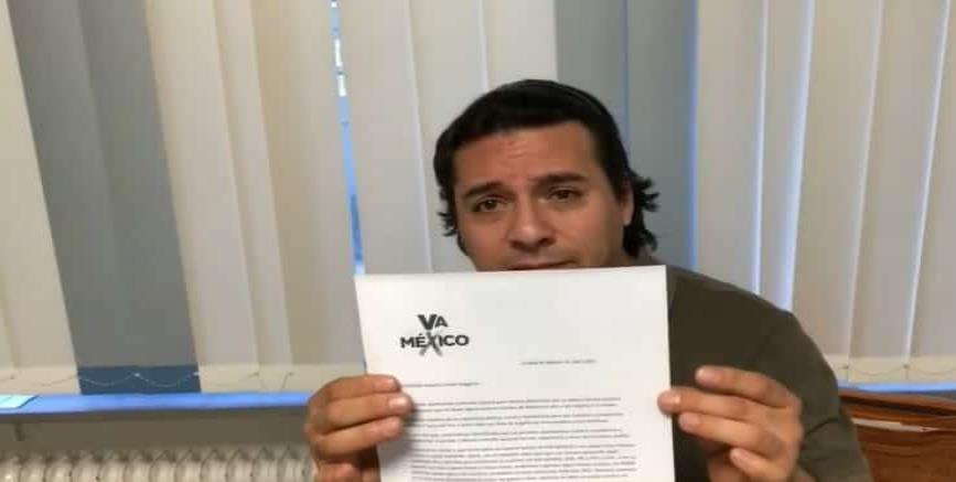 """""""No voy a vender mi dignidad"""" responde tenor mexicano a la alianza """"Va por México"""", tras invitación a apoyar a sus candidatos"""
