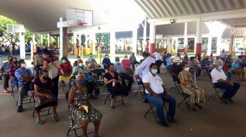 Continúa esta semana vacunación anticovid para adultos mayores en Centla y Centro