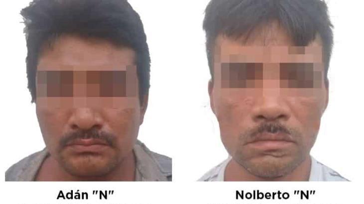 Detiene la FGE a dos hombres acusados de homicidio calificado