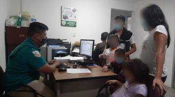 Resguarda Migración a tres menores migrantes no acompañados... en Villahermosa