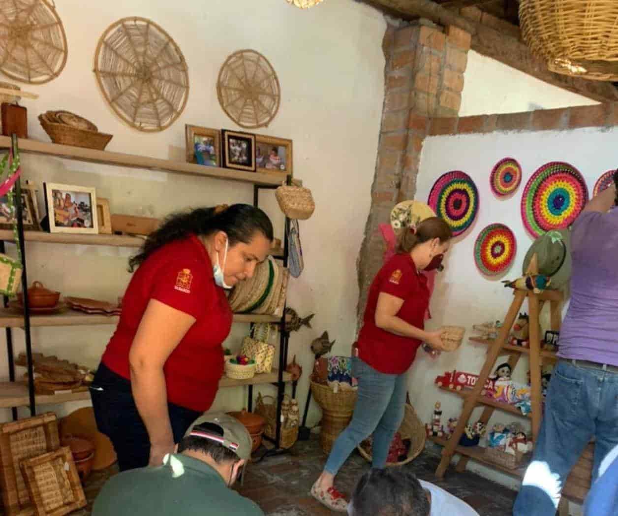 Instalan tienda ´ArteSano´ de Tabasco en Cocina Chontal, en Comalcalco