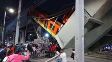 Suman 25 fallecidos por accidente en el Metro de CDMX