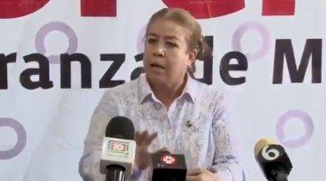"""""""Gente perversa pudo haber movido la ballena que sostenía las vías de la línea 12"""", asegura la senadora Margarita Valdéz"""