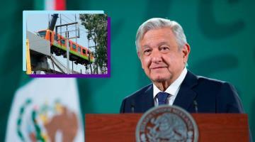 Acusa AMLO linchamiento en su contra por colapso de la Línea 12 del Metro