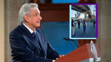 Descarta Obrador acudir a la zona del desplome y visitar a familiares de las víctimas