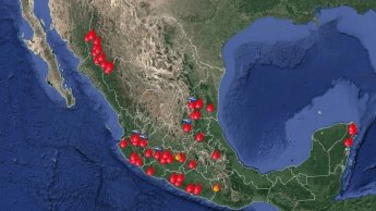 Reporta Conafor 57 incendios activos en 14 estados; Chihuahua registra 12