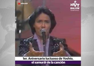 Recordamos a Yoshio ícono de la balada romántica de los años 80
