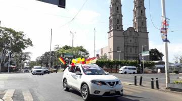 Realizan primera caravana del orgullo gay en Villahermosa