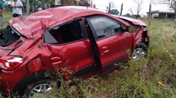 Automovilista sufre accidente en la Villahermosa-Macuspana