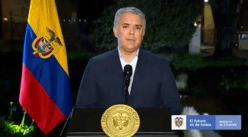 Presidente de Colombia ordena el despliegue de la fuerza pública para desbloquear carreteras