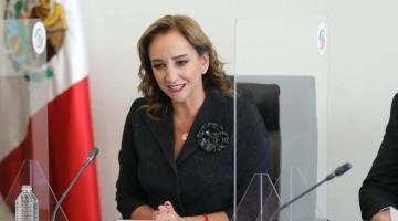 AMLO debe de abstenerse de intervenir en el proceso electoral: Claudia Ruiz Massieu