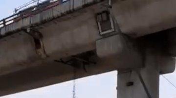 Denuncian en redes sociales deterioro de Puente de La Concordia en Iztapalapa