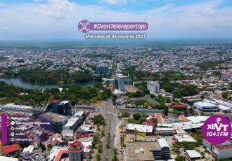 Dron Telereportaje  Tarde soleada en Villahermosa