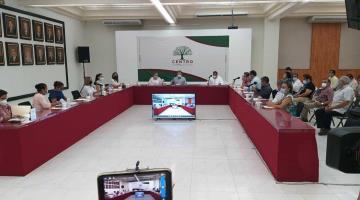 Aprueba Cabildo de Centro licencia temporal del alcalde Evaristo Hernández