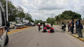 Muere motociclista tras ser impactado por un auto en la Villahermosa-Macuspana