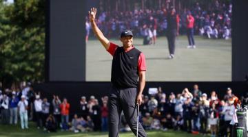 Tiger Woods se pone como objetivo volver a caminar