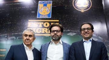 Tigres anuncia a Mauricio Culebro como nuevo presidente del club