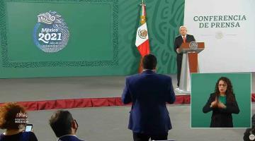 """Afirma AMLO que acatará determinación del INE de retirar tres conferencias """"mañaneras"""""""