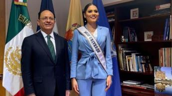 Busca Miss Universo mexicana empoderamiento de mujeres y migrantes en su año de reinado