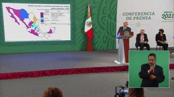 Gobernará Morena en 17 estados del país una vez que entren en función los nuevos gobernantes: AMLO
