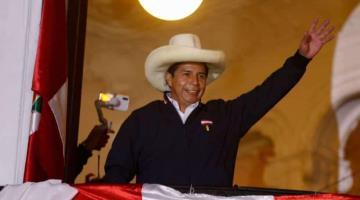 Pedro Castillo se convierte en el virtual ganador de las elecciones presidenciales de Perú