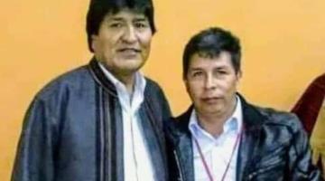 Denuncia Evo Morales que detrás de revisión de actas de votación en Perú, se esconde un plan golpista para robar el triunfo