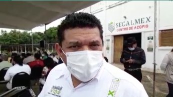 Rechaza Javier May haber condicionado el voto de los beneficiarios de la secretaría del Bienestar