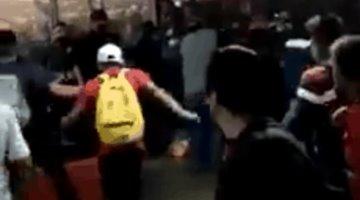 En CDMX, se enfrentan policías, comerciantes y usuarios del Metro en la estación Pantitlán