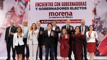 Gobernadores electos de Morena van por la reestructuración de la CONAGO