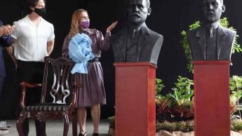 En Costa Rica, develan bustos de Francisco I. Madero y de Rogelio Fernández Güell