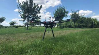 Ingenieros alemanes desarrollan un dron para detectar gritos humanos