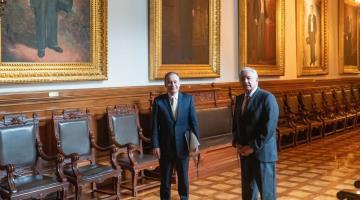Anuncia Obrador que buscará con Durazo construir parque de energía solar en Sonora