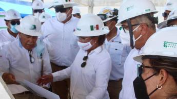 Rocío Nahle violó veda electoral: Sala del TEPJF; da vista a AMLO para que la sancione