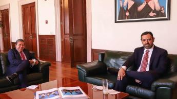 Inicia entrega-recepción en Zacatecas; David Monreal y Alejandro Tello sostienen primer encuentro