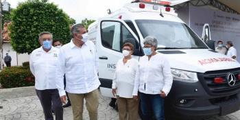 Pide gobernador el cese del cobro de cuotas de traslado de ambulancia en Tenosique