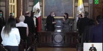 Nombran ´Huésped Distinguido´ de CDMX a Pietro Parolin, secretario de Estado del Vaticano