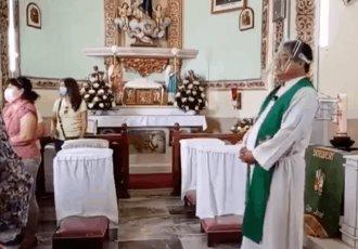 Balacera interrumpe misa en Guerrero
