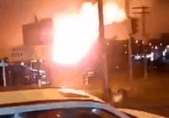 Explosión en una gasolinera de Sao Paulo, Brasil, deja varios heridos