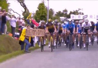 Aficionada que provocó caída masiva en el Tour de Francia podría enfrentar prisión