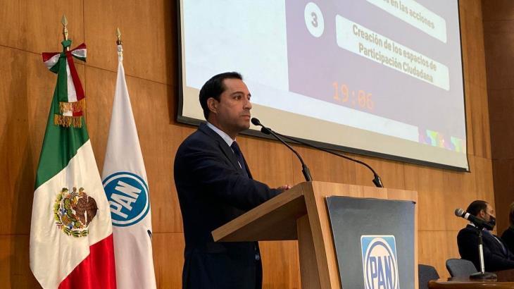 Acción Nacional destapa a Mauricio Vila para ser candidato a la presidencia en 2024