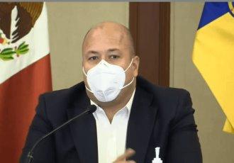 Evade Enrique Alfaro preguntas sobre gastos excesivos en publicidad del gobierno de Jalisco