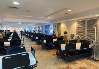 Reporta Salud que 81 hospitales tienen saturadas sus áreas COVID en México