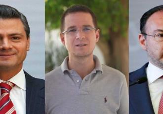 Investiga FGR a operadores de Enrique Peña Nieto, Luis Videgaray y Ricardo Anaya