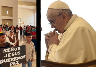 Envía Papa Francisco carta al pueblo de Aguililla Michoacán; ¡No están solos! Les dice