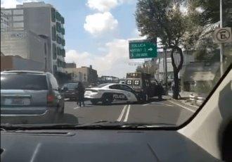 Ambulancia de la Sedena atropella a un motociclista en la CDMX
