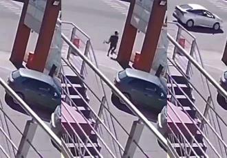 Venezolano intenta asaltar en Metepec y lo abaten a balazos