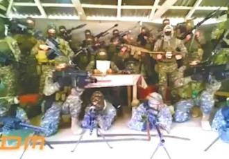 Supuestos miembros del CJNG amenazan al Ejército y la Guardia Nacional por presuntamente apoyar a autodefensas