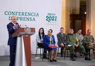 Espionaje era práctica del antiguo régimen dice Obrador; celebra investigación sobre Pegasus
