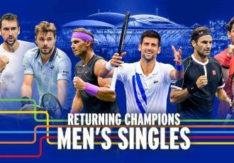Federer, Nadal y Djokovic, confirmados para el US Open