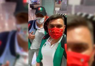 Juan Pablo Oramas y la Selección Mexicana de Beisbol viajan rumbo a Tokio